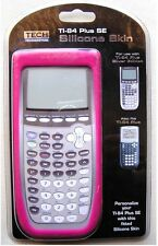Pink Fuschia Tech Headquarters Silicone Skin TI-84 Plus SE Calculator Cover