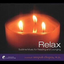 FREE US SH (int'l sh=$0-$3) NEW CD Various Artists: Relax: Sublime Music for Rea