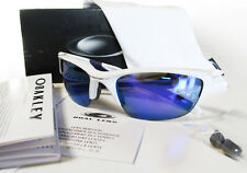 Authentic OAKLEY New Half Jacket 2.0 Pearl/Violet Iridium Sunglasses OO9144-08
