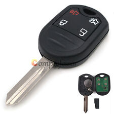 New Uncut Remote Key Fob 4 Button 80 Bit 4D63 for Ford Edge Escape 2007-2013