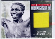 Livingstone Bramble 2011 Ringside Boxing Round 2 Fight Worn Trunks AM-53 Authent