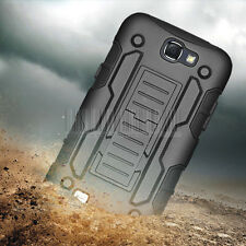 Rugged Armor Impact Clip Holster Case Cover For Samsung Galaxy Note II 2 N7100