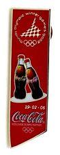 Pin Spilla Olimpiadi Torino 2006 - Coca-Cola Puzzle Bottiglia J