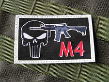 Patch Velcro - M4 punisher - AIRSOFT combat RIS ACU COS