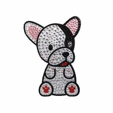 French Bulldog Dog Rhinestone Glitter Jewel Phone Ipod Iphone Sticker Decal
