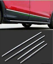 Door Body Side Molding Cover Trim For 2013-2017 Ford Escape Kuga Stainless Steel