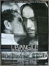 EVANGILE SELON SAINT MATHIEU Affiche Cinéma / Movie Poster Pier Paolo Pasolini