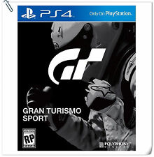 PS4 Gran Turismo Sport GT SONY PLAYSTATION Racing Games SCE PREORDER