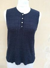 Superbe Pull Top Coton Cachemere Chanel 40/42