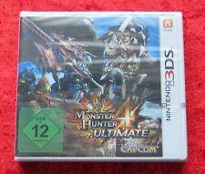 Monster Hunter 4 Ultimate, Nintendo 3DS Spiel, Neu, deutsche Version