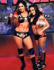 Rosita Auto Autograph 8x10 Photo  w/COA - TNA WWE