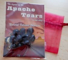 APACHE TEARS - 10 LITTLE ROCKS  SEALED IN PACK WITH INFORMATION GUIDE