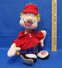"""Plush Talking Golfer Bobble Head Character That Says """"Another Lost Golf Ball"""""""