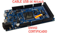 DUE ARM CORTEX M3 SAM3X8E 32 BITS TIPO ARDUINO 100% COMPATIBLE