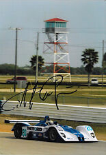 Didier de Radrigues SIGNED Dyson MG-Lola EX257  Sebring 12hrs 2004