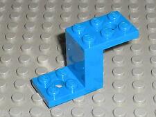 LEGO blue Bracket 5 x 2 x 2 & 1/3 ref 6087 / Set 8495 6044 5765 ....