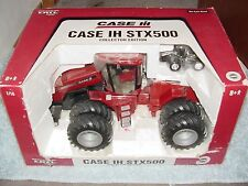 ERTL 1/16 IH CASE INTERNATIONAL STX500 CE W DUALS TRACTOR W 1/64 CHROME TRACTOR