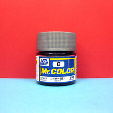 Mr. Hobby #C8 Mr. Color Paint [metallic] Silver PRIMARY (10ml)