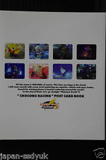 Chocobo Racing Postcard Book OOP 1999 Japan