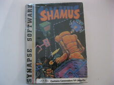 Shamus Commodore 64 Game cassette Synapse Software