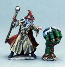 Wizard & Crystal Ball Reaper Miniatures Dark Heaven Legends Mage Caster Magic
