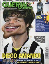 rivista GUERIN SPORTIVO ANNO 2009 NUMERO NUMERO 24 JUVENTUS DIEGO