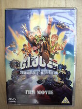 GI JOE A REAL AMERICAN HERO CARTOON THE MOVIE DVD 1987 HASBRO VGC FREE UK POST