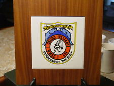 USCGC Valiant WMEC 621 Ship's Plaque United States Coast Guard Cutter