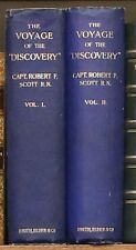 The Voyage of the Discovery. Two Volumes. Robert F. Scott. 1905.
