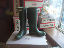 VINTAGE GREEN NORRIS HUNTER WELLINGTONS WELLIES IN HALIFAX SIZE 7  LADIES TALL