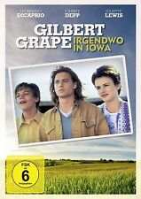 JOHNNY DEPP/LEONARDO DICAPRIO/+ - GILBERT GRAPE: IRGENDWO IN IOWA  DVD NEU