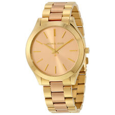 Michael Kors Slim Runway Pink Dial Ladies Watch MK3493
