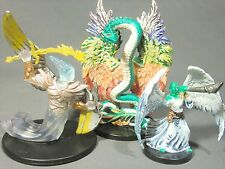 Dungeons & Dragons Miniatures Lot  Angel of Vengeance Archon Couatl !!  s85