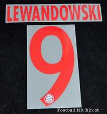 Bayern Munich Lewandowski 9 Football Shirt Name/Number Set 2015/16 Away