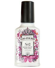 Poo-Pourri Bathroom Spray Before You Go Odor Neutralizer No.2 2 oz