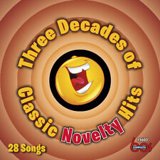 New CD 3 Three Decades Of Classic Novelty Hits 28 Tracks 22 Top 40 11 In Stereo