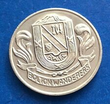 BOLTON WANDERERS FA CUP CENTENARY  (1872  - 1972 ) ESSO COIN / MEDAL