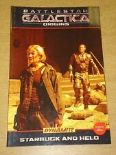 BATTLESTAR GALACTICA ORIGINS STARBUCK AND HELO DYNAMITE GN   9781606900383