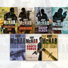 Nick Stone Thriller Collection Andy McNab 7 Books Set Aggressor, Liberation Day