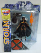 Storm X-Men Action Figure w/Base Accessory Long Hair Sealed Marvel Select Toys