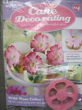 Deagostini Cake Decorating Magazine ISSUE 114 WITH WILD ROSE CUTTER