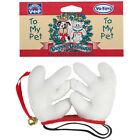 Vo-Toys Plush Reindeer Antlers with Bell for Pets - Free Shipping New in Sealed