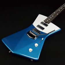 Ernie Ball Music Man Saint St. Vincent Blue Electric Guitar Solid Rosewood Neck
