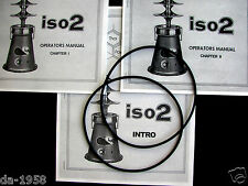Thai Power Iso2 Oil Extractor Manuals and Two (2) replacement Iso2 O-Rings