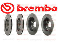 Honda Accord 98-02 3.0 Kit Two Front + Two Rear Disc Brake Rotors Brembo OEM