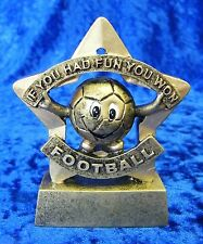Great Football Star Award Mini Trophy 'Fun you Won' School event FREE engraving