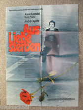 Aus Liebe sterben -KINOPLAKAT A1 - Mourir d'aimer Annie Girardot To Die of Love