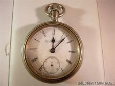 Elgin National Watch Co Silveroid Pocket Watch ~Open Face~ Stem Set