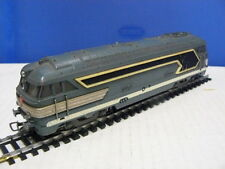 TRAIN ECHELLE HO JOUEF LOCOMOTIVE TYPE BB 67001 MOUSTACHE EN METAL  au 1/87 ème