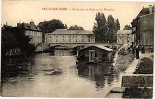 CPA Arcis - sur - aube .- Le lavoir le pont  (197218)